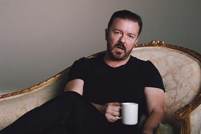 """Optus """"did Ricky Gervais just do that to Optus?"""" by Emotive, M&C Saatchi Australia, Fuel Communications"""