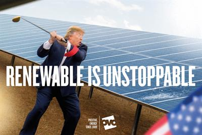 "Ovo Energy ""Renewable is unstoppable"" by Uncommon"