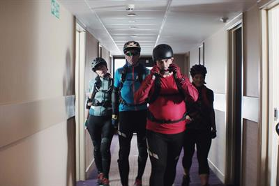 "Premier Inn ""Pedal squad"" by Lucky Generals"