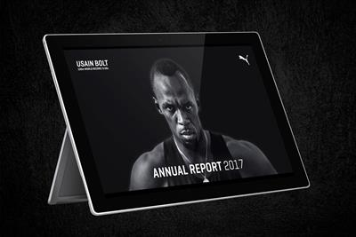 "Puma ""Fastest annual report in the world"" by Publicis Pixelpark"