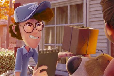 """Renault """"The postman"""" by Publicis Conseil"""