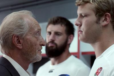 """England Rugby 2015 """"team talk"""" by BBH Sport"""