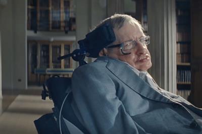 """Gen-Pep """"Pep Talk by Stephen Hawking"""" by Forsman & Bodenfors"""