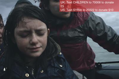 """Save the Children """"still the most shocking second a day"""" by Don't Panic"""
