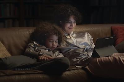 Samsung follows a busy mom's WFH day