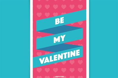 Advertising creatives give Valentine's Day a revamp