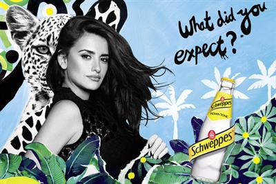 """Schweppes """"Penelope"""" by Fred & Farid Paris"""
