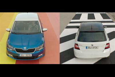 """Skoda """"fight for attention"""" by 18 Feet & Rising"""
