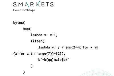 "Smarkets ""Code ad"" by Smarkets"
