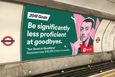 "Spotify ""2018 goals"" by Spotify"