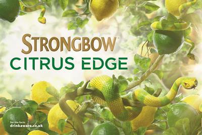 "Strongbow ""Citrus Edge"" by St Luke's"