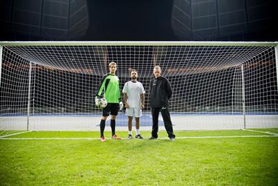 """Strongbow """"earn it football challenge"""" by St Luke's"""