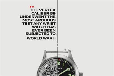 "Vertex ""The story of the Vertex Caliber 59"" by Grey London"
