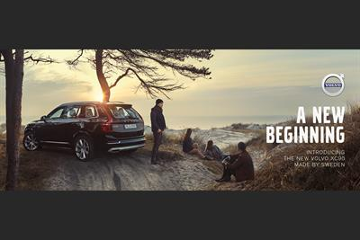 """Volvo """"a new beginning"""" by Forsman & Bodenfors"""