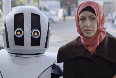 "War Child UK ""Escape robot"" by Raw London"