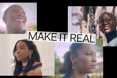 """WeTransfer and Squarespace """"Make it real"""" by We Are Pi"""