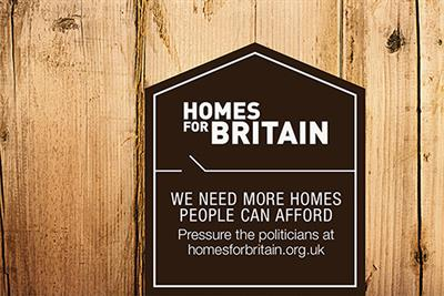 "Homes for Britain ""Westminster station domination"" by Abbott Mead Vickers BBDO"