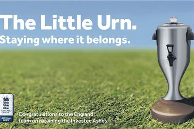 "Yorkshire Tea ""little urn"" by Beattie McGuinness Bungay"
