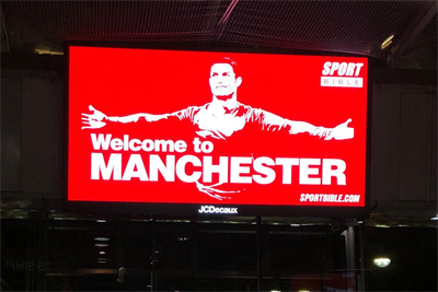 """SportBible """"Welcome to Manchester"""" (in-house)"""