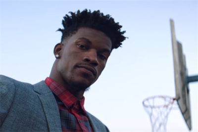 Chicago Bulls' Jimmy Butler gets playfully poetic in first Bonobos spot