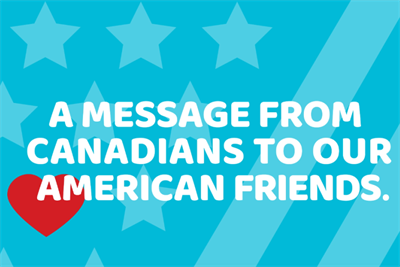 Election got you worried? Canadians assure America it's already great