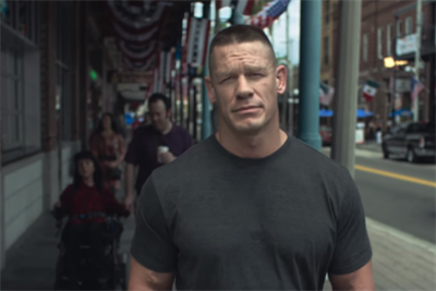 John Cena gets patriotic about diversity in next stage of #LoveHasNoLabels
