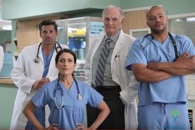 TV doctors don their scrubs for an important message from Cigna