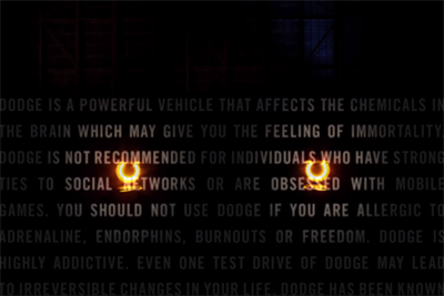 "Dodge rolls out new tagline ""Domestic. Not Domesticated"""