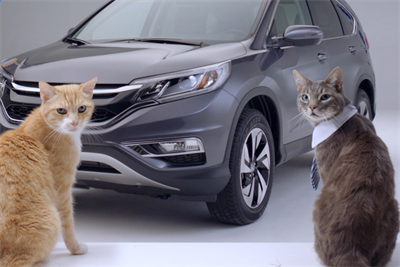 """Honda remakes """"Now is the Moment"""" spots with singing cats"""