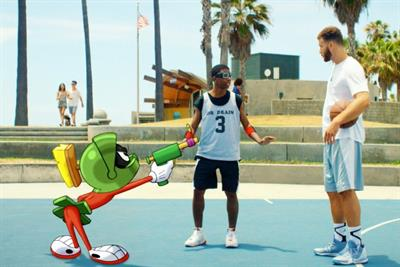Nike ad has out-of-this-world cartoon cameos