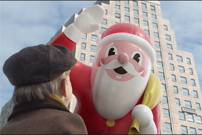 Macy's first-ever Thanksgiving parade spot recreates old New York