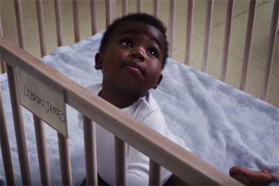 Baby athletes must forge their own destinies in Nike spot