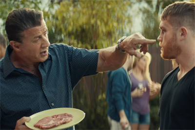 Tecate pits Sylvester Stallone and Canelo Álvarez in a battle of boldness