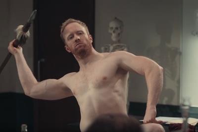 Hunger inspires naked model mishap in Snickers Crisper spot