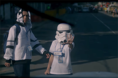Stormtroopers stick together in tender and moving spot from Publicis shop