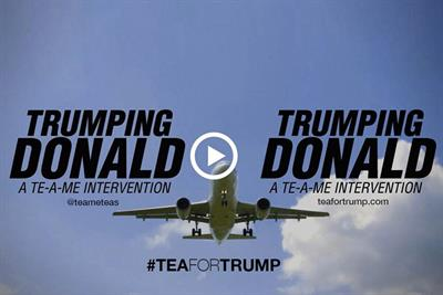 Indian tea company offers 'purification plan' for Donald Trump