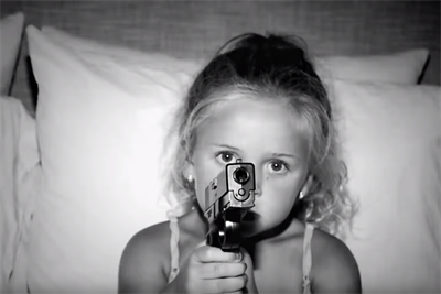 Deadly toddlers kill Americans in McCann NY PSA