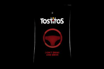Tostitos and MADD create a breathalyzer bag to prevent Super Bowl DUIs