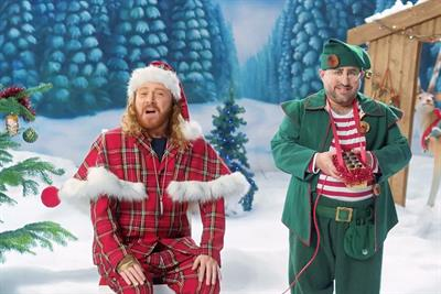 """Carphone Warehouse """"Winter wonderland"""" by Brothers and Sisters"""