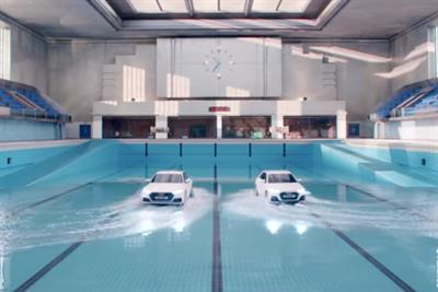 "Audi ""Synchronised swim"" by Bartle Bogle Hegarty London"