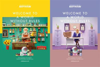 "Rust-Oleum ""A world without rules"" by Drummond Central"
