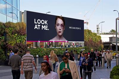 """Women's Aid """"look at me"""" by WCRS"""