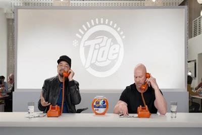 Ice-T and 'Stone Cold Steve' team up for Tide cold calls