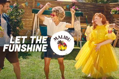"Malibu ""Let the funshine"" by Virtue Worldwide"
