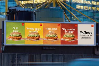 "McDonald's ""#McSpicyDebate"" by Leo Burnett"