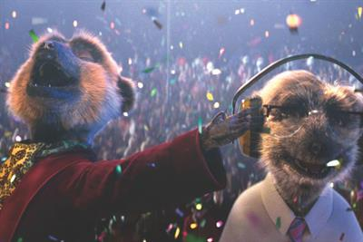 "Comparethemarket.com ""Hooray for a year of Meerkat Movies"" by VCCP"