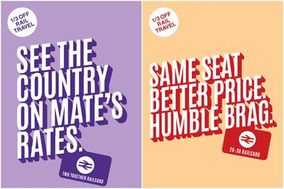 """National Rail """"Get that railcard feeling"""" by The Community"""