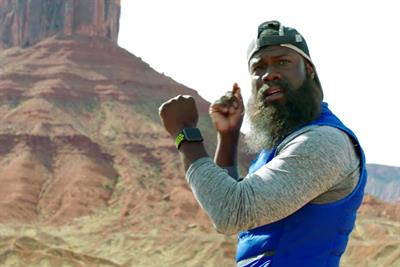 """Nike and Apple Watch """"The man who kept running"""" by Wieden & Kennedy Portland"""