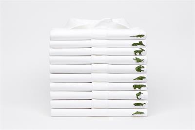 Lacoste's crocodile swapped with endangered species for BETC Paris campaign