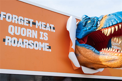 """Quorn """"Roarsome"""" by Adam & Eve/DDB"""